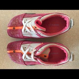 Girl's Diesel Shoes Size 11 Pink & Orange EUC!